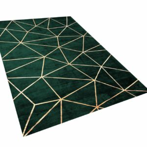 DYWAN HAVZA dark green 140×200